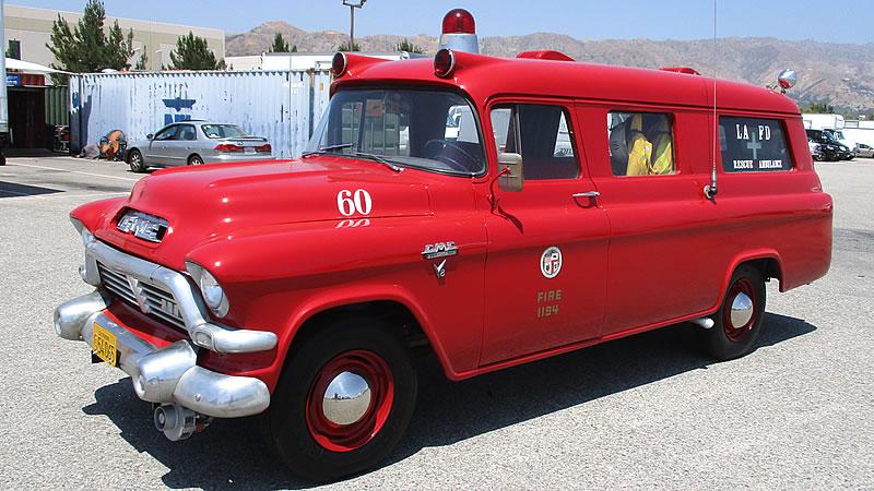 1957 Gmc Ambulance Vintage Emergency Vehicles